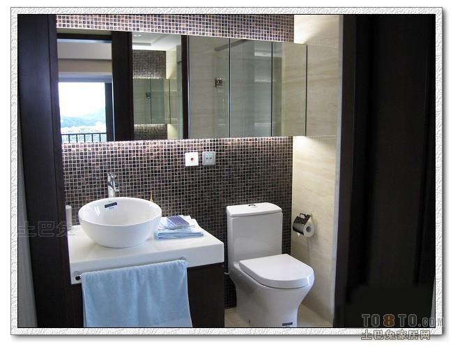 温馨154平混搭四居卫生间图片欣赏卫生间潮流混搭卫生间设计图片赏析