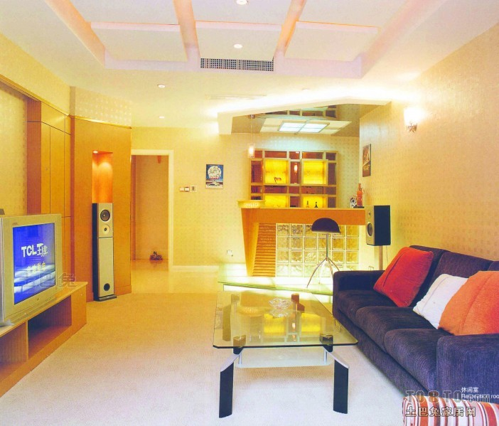 客厅3.jpg客厅潮流混搭客厅设计图片赏析