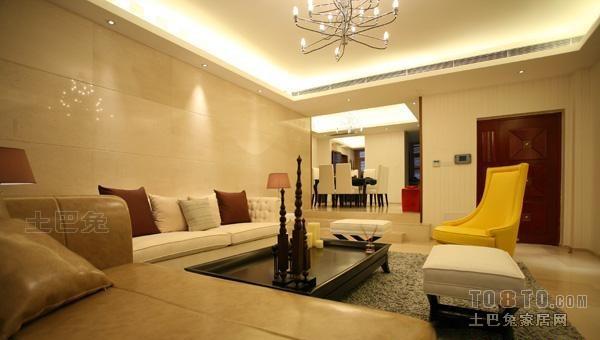 面积128平复式客厅混搭装修实景图片客厅潮流混搭客厅设计图片赏析