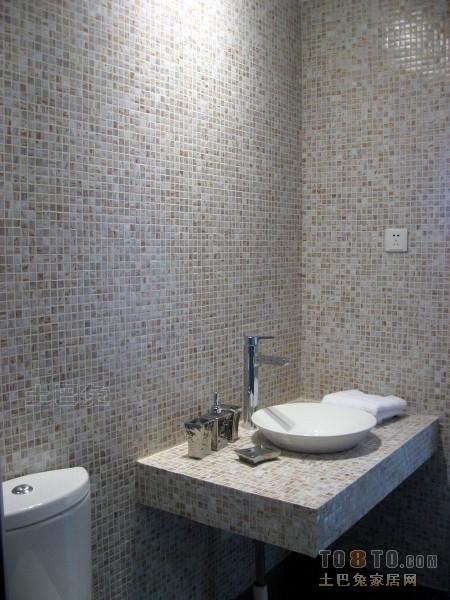 热门三居卫生间混搭装饰图片大全卫生间潮流混搭卫生间设计图片赏析