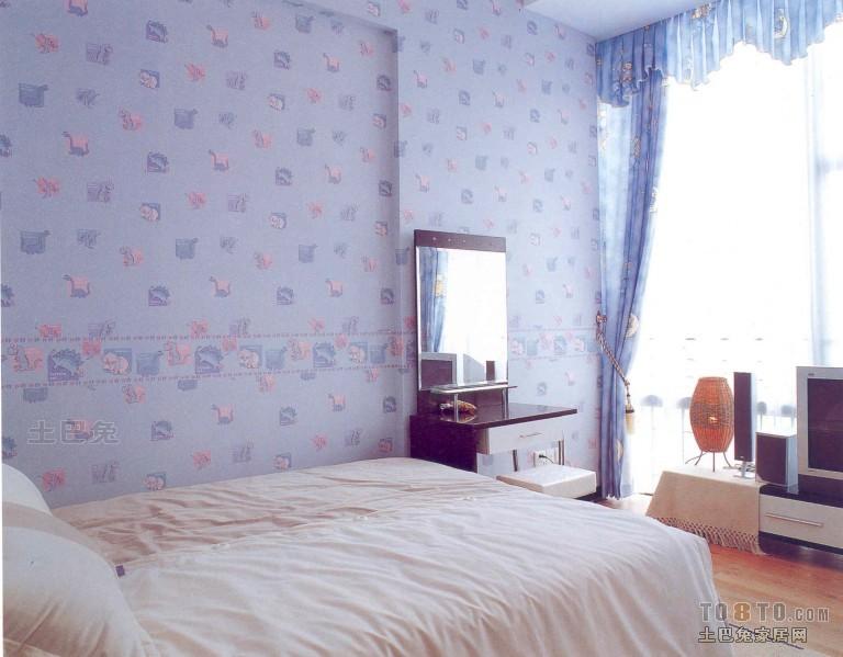 温馨117平混搭三居卧室图片大全卧室潮流混搭卧室设计图片赏析