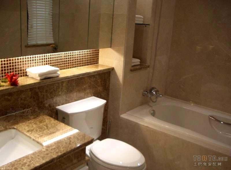 欧式现代卫生间装修效果图 高清图片