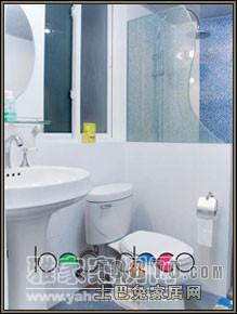 悠雅62平混搭复式卫生间设计效果图卫生间潮流混搭卫生间设计图片赏析