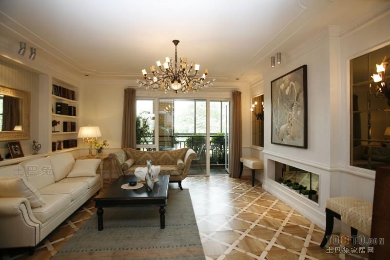 优雅78平混搭三居客厅实景图片客厅潮流混搭客厅设计图片赏析