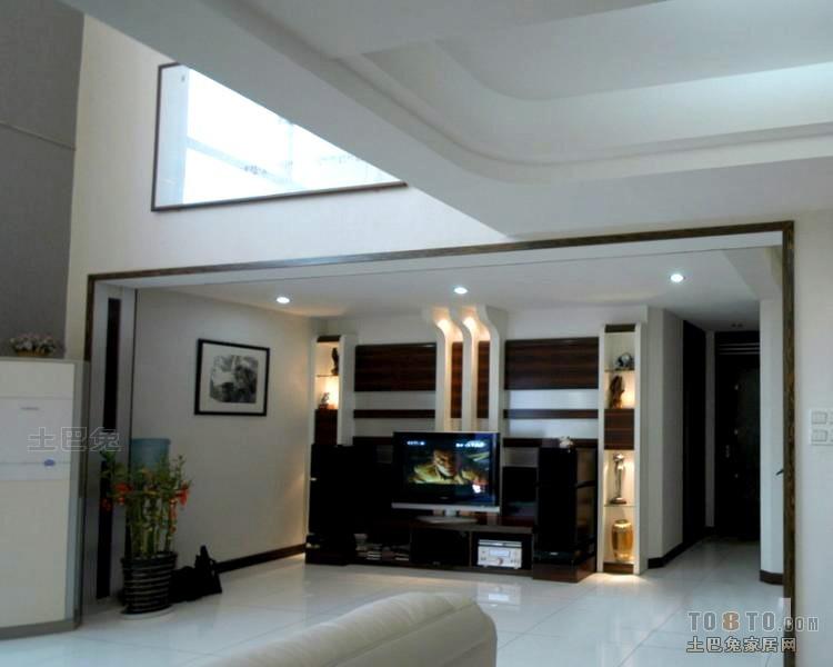 大气49平混搭复式客厅装饰图片客厅潮流混搭客厅设计图片赏析