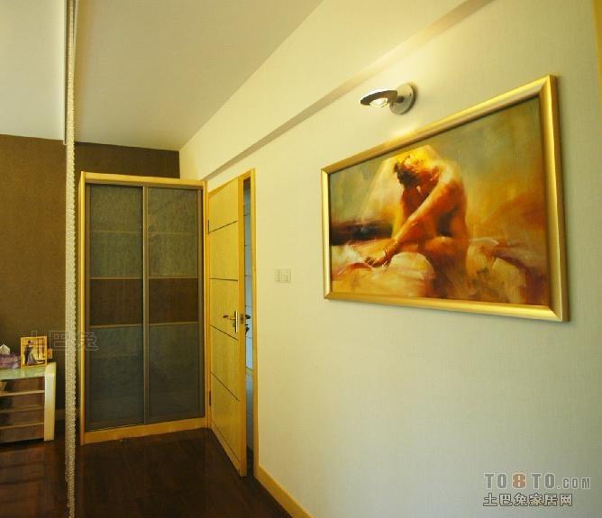 质朴100平混搭三居卧室装修图卧室潮流混搭卧室设计图片赏析