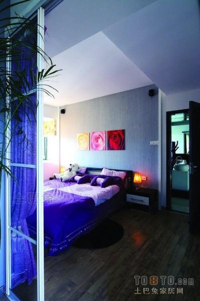 大气74平混搭三居卧室布置图卧室潮流混搭卧室设计图片赏析