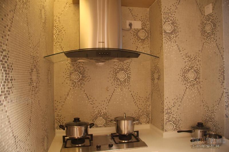 精美113平米四居厨房混搭效果图设计图片赏析