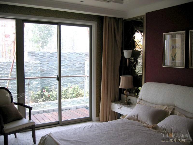 平方三居卧室混搭设计效果图卧室潮流混搭卧室设计图片赏析