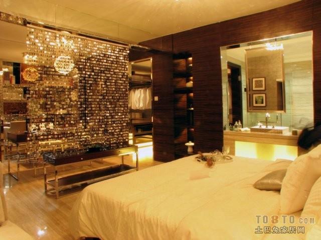 精致57平混搭二居卧室布置图卧室潮流混搭卧室设计图片赏析