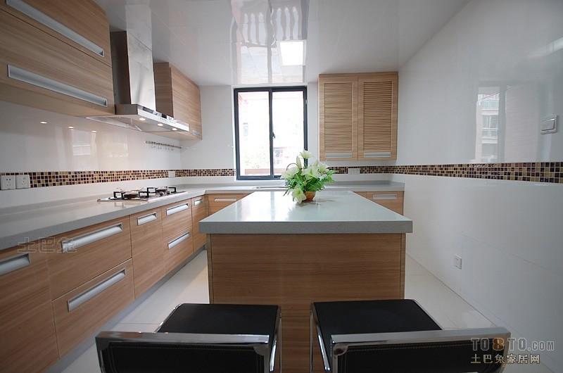 现代风格厨房餐厅潮流混搭厨房设计图片赏析
