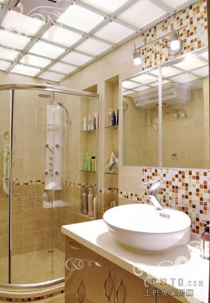 面积98平混搭三居卫生间装修欣赏图片卫生间潮流混搭卫生间设计图片赏析
