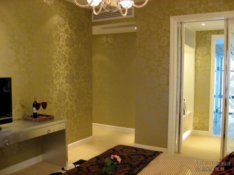 简洁77平混搭三居卧室装修效果图卧室潮流混搭卧室设计图片赏析