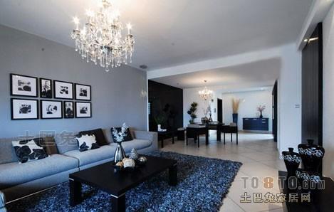 热门面积129平混搭四居客厅装修实景图片欣赏客厅潮流混搭客厅设计图片赏析