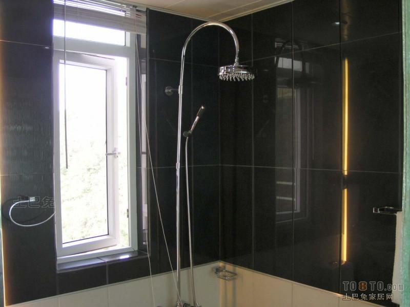 精美98平米三居卫生间混搭装修实景图片大全卫生间潮流混搭卫生间设计图片赏析