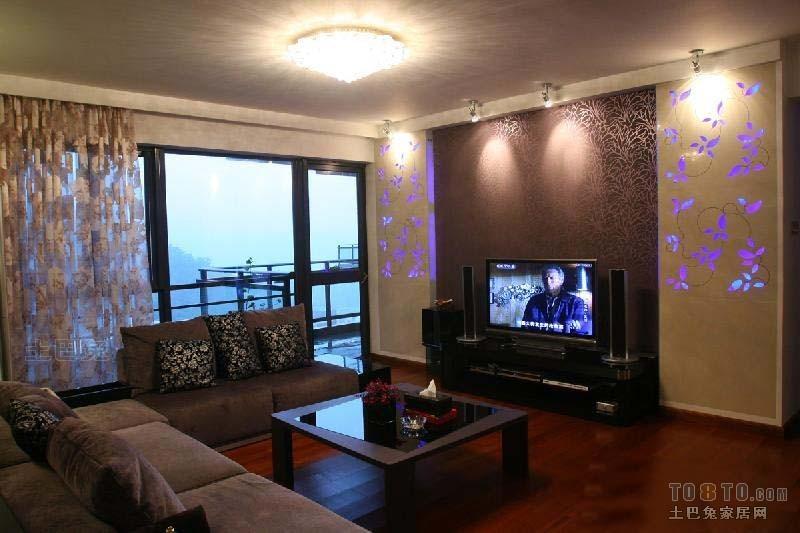 大气106平混搭三居客厅设计图客厅潮流混搭客厅设计图片赏析