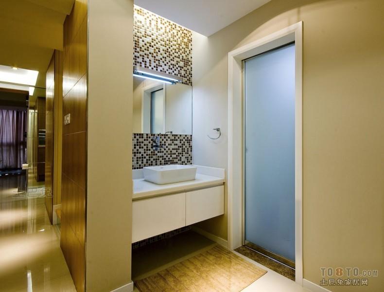 精选132平米混搭复式卫生间装修欣赏图片卫生间潮流混搭卫生间设计图片赏析