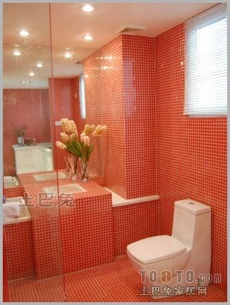 大气23平混搭小户型卫生间装修美图卫生间潮流混搭卫生间设计图片赏析