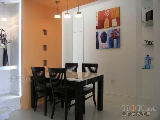 精美92平方三居餐厅混搭装修效果图片欣赏厨房潮流混搭餐厅设计图片赏析