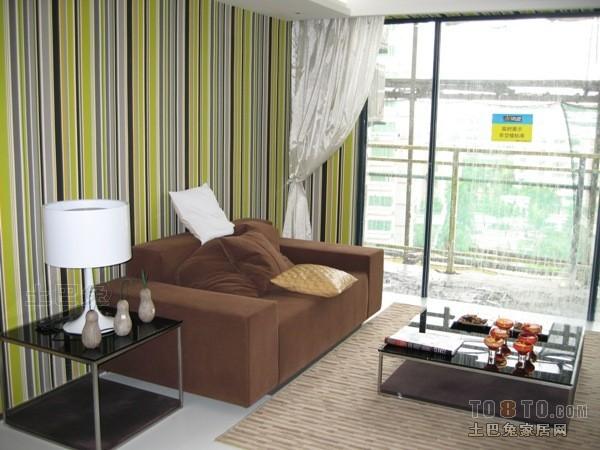 华丽60平混搭二居客厅效果图片大全客厅潮流混搭客厅设计图片赏析