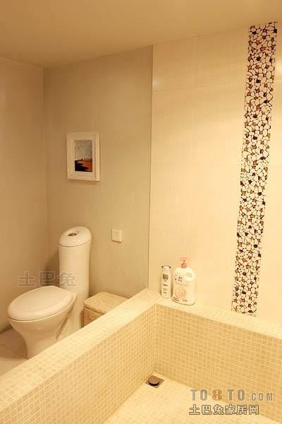 平米混搭复式卫生间设计效果图卫生间潮流混搭卫生间设计图片赏析
