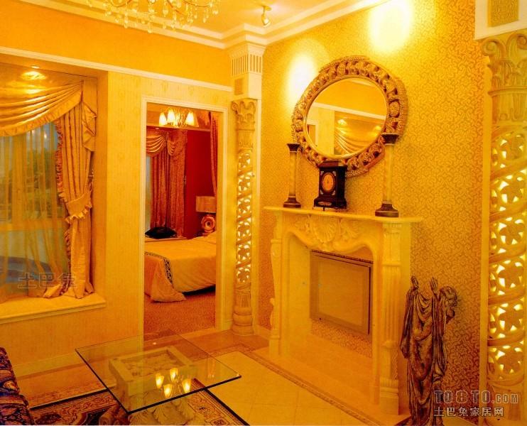 华丽87平混搭二居客厅实景图客厅潮流混搭客厅设计图片赏析