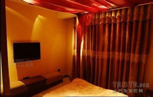 精美106平大小卧室三居混搭装修设计效果图卧室潮流混搭卧室设计图片赏析
