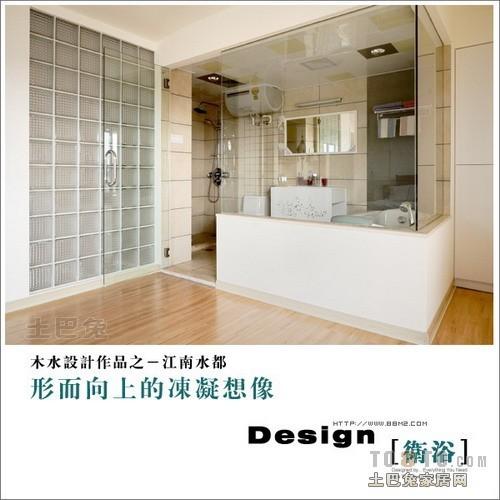 精美67平混搭复式卫生间效果图欣赏卫生间潮流混搭卫生间设计图片赏析