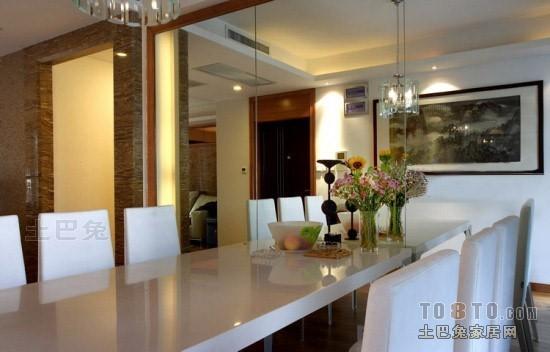 精美146平混搭四居餐厅设计效果图厨房潮流混搭餐厅设计图片赏析