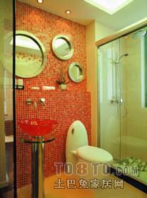 浪漫116平混搭三居卫生间效果图卫生间潮流混搭卫生间设计图片赏析
