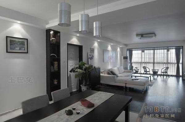 热门125平米四居餐厅混搭设计效果图厨房潮流混搭餐厅设计图片赏析