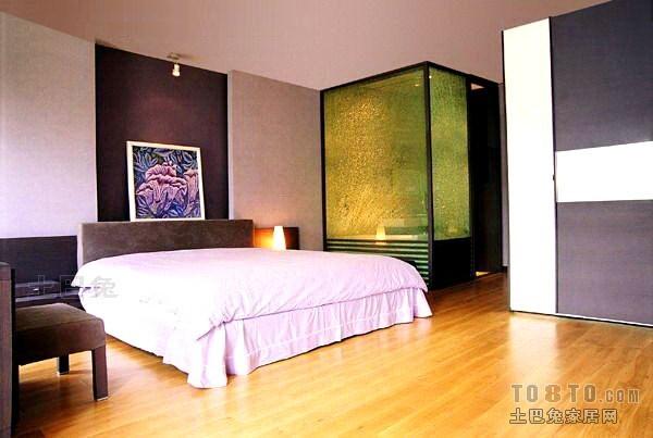 悠雅43平混搭复式卧室效果图欣赏卧室潮流混搭卧室设计图片赏析