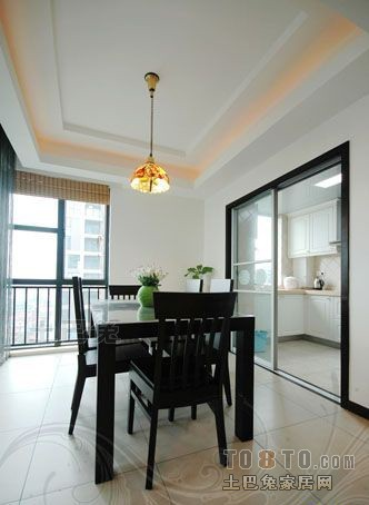 精美109平米三居餐厅混搭实景图片厨房潮流混搭餐厅设计图片赏析