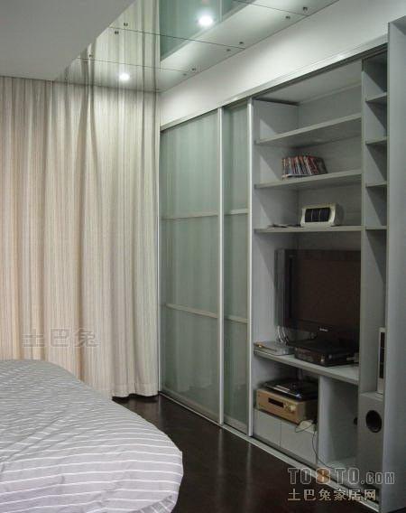 精美面积108平混搭三居卧室装修欣赏图卧室潮流混搭卧室设计图片赏析