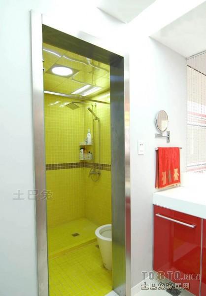 精美大小105平混搭三居卫生间欣赏图卫生间潮流混搭卫生间设计图片赏析