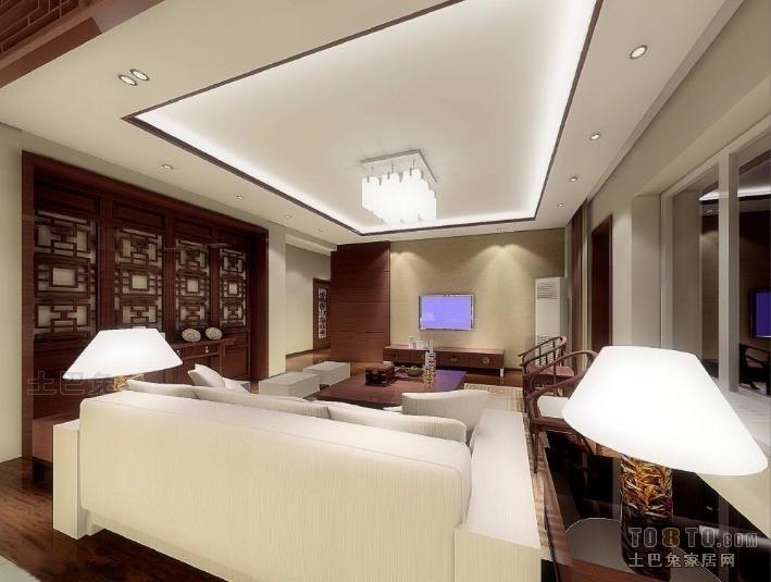 136平米混搭复式客厅装修设计效果图片大全客厅潮流混搭客厅设计图片赏析