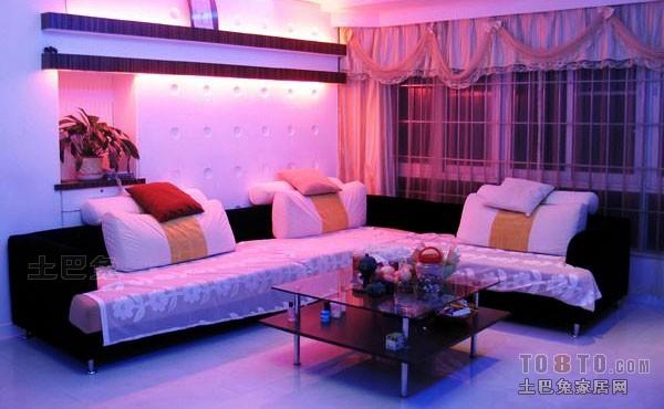 108平方三居客厅混搭装修效果图片大全客厅潮流混搭客厅设计图片赏析