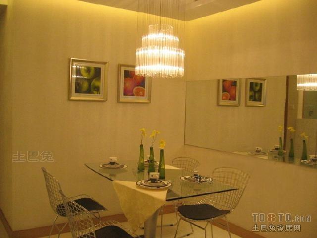 精选7平米二居餐厅混搭装修效果图片大全厨房潮流混搭餐厅设计图片赏析
