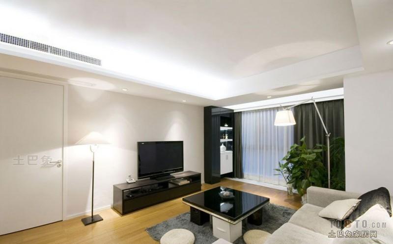 精选大小92平混搭三居客厅实景图片客厅潮流混搭客厅设计图片赏析