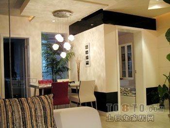 平米二居餐厅混搭欣赏图厨房潮流混搭餐厅设计图片赏析