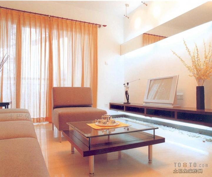 精选74平方二居客厅混搭装饰图客厅潮流混搭客厅设计图片赏析