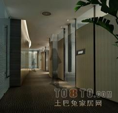 办公楼装修效果图 深圳创域设计有限公司作品
