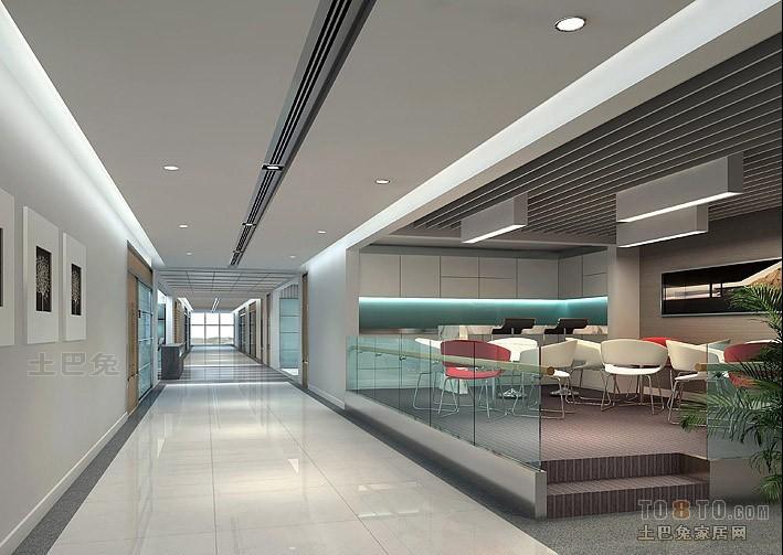 办公楼装修效果图 深圳市南华装饰工程有限公司作品