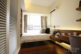 卧室床背景墙软包设计