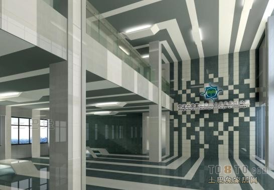 办公楼装修效果图 深圳市明示建筑装饰设计工程有限公司作品