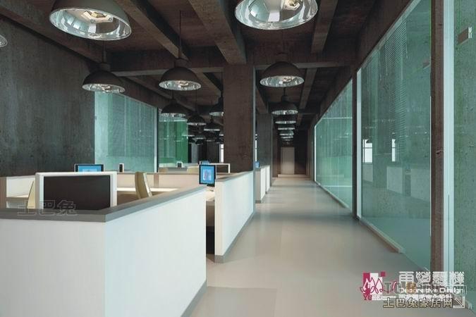 办公楼装修效果图 深圳市雨荷露莲室内设计有限公司作品