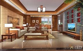欧式别墅家庭客厅设计2014