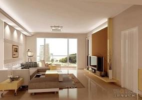 工业感90平米房子简单装修图