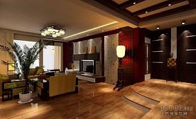 时尚美式混搭客厅装饰