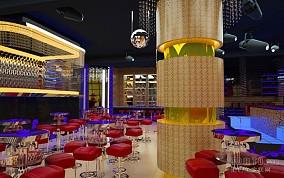 酒吧吧台设计效果图
